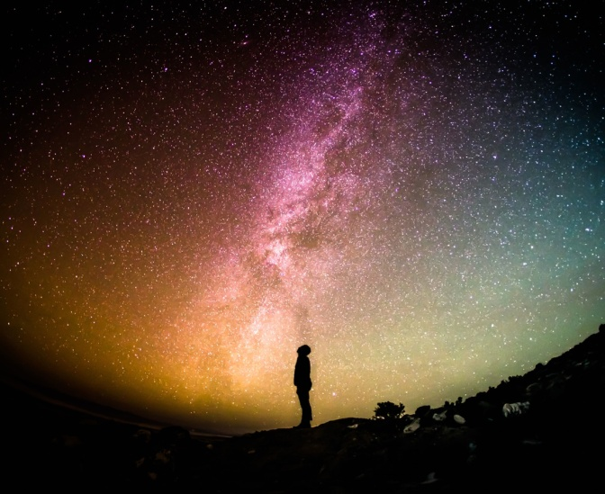 Seul avec le ciel